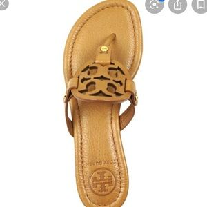 Tory Burch Miller tumbled leather sandals
